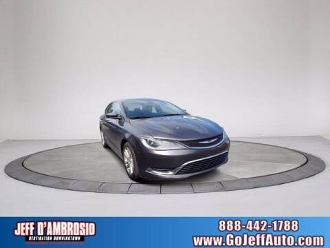 2015 Chrysler 200 for sale at Jeff D'Ambrosio Auto Group in Downingtown PA