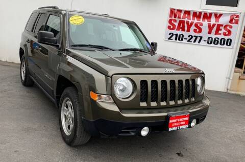 2015 Jeep Patriot for sale at Manny G Motors in San Antonio TX