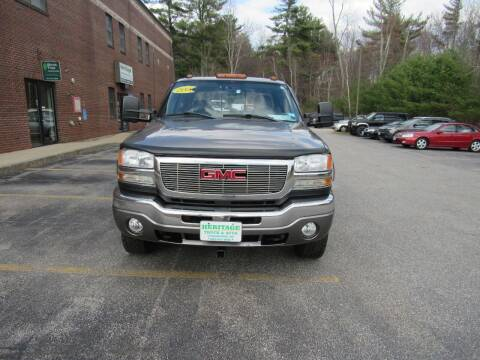 2006 GMC Sierra 2500HD for sale at Heritage Truck and Auto Inc. in Londonderry NH