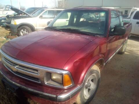 1995 Chevrolet S-10 for sale at KK Motors Inc in Graham TX