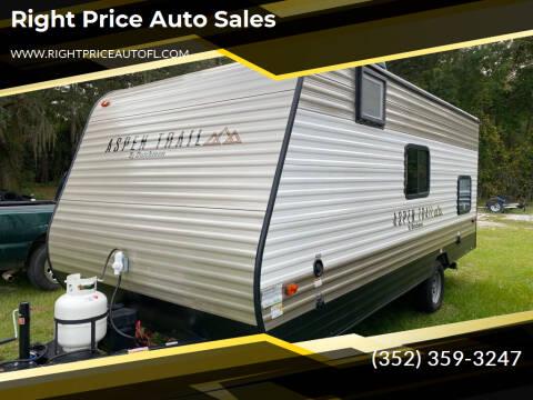 2021 Dutchmen ASPEN TRAIL for sale at Right Price Auto Sales in Waldo FL
