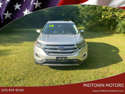 2015 Ford Edge for sale at Midtown Motors in Greenbrier TN