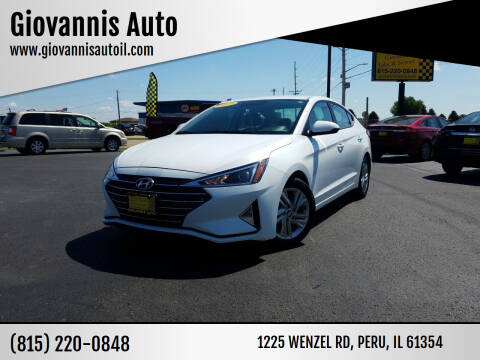 2019 Hyundai Elantra for sale at Giovannis Auto in Peru IL