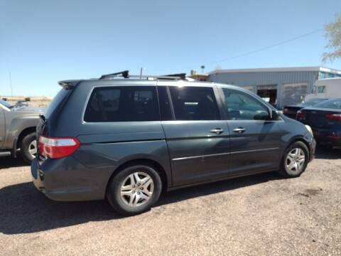 2005 Honda Odyssey for sale at PYRAMID MOTORS - Pueblo Lot in Pueblo CO