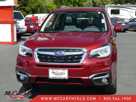 2017 Subaru Forester for sale at McCarthy Wholesale in San Luis Obispo CA