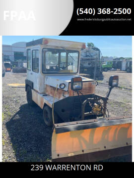 1978 Airport Tug with Snow Plow for sale at FPAA in Fredericksburg VA