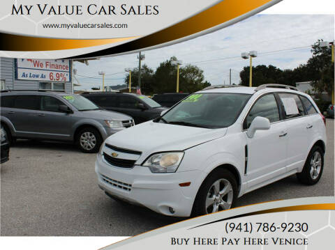 2014 Chevrolet Captiva Sport for sale at My Value Car Sales in Venice FL