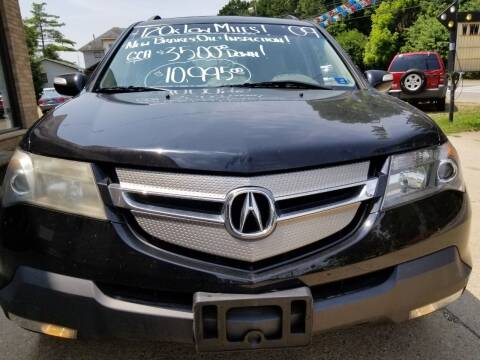 2009 Acura MDX for sale at Action Auto Sales in Parkersburg WV