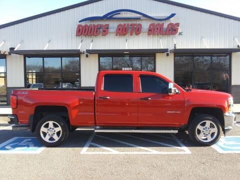 2015 Chevrolet Silverado 2500HD for sale at DOUG'S AUTO SALES INC in Pleasant View TN