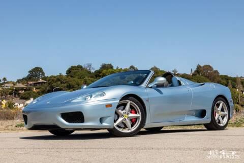 2004 Ferrari 360 Spider for sale at 415 Motorsports in San Rafael CA