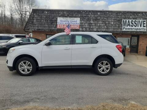 2015 Chevrolet Equinox for sale at Kenny's Korner in Hartland MI
