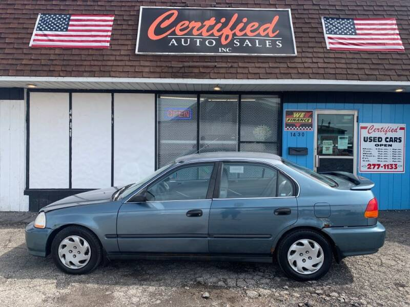1997 Honda Civic for sale at Certified Auto Sales, Inc in Lorain OH