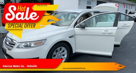2012 Ford Taurus for sale at American Motors Inc. - Belleville in Belleville IL