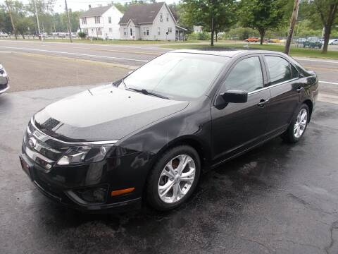 2012 Ford Fusion for sale at Dansville Radiator in Dansville NY