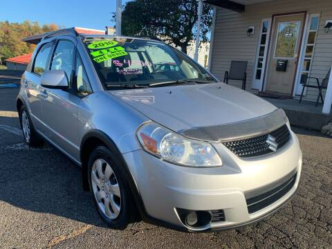 2010 Suzuki SX4 Crossover for sale at G & G Auto Sales in Steubenville OH