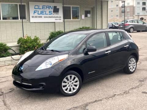 2013 Nissan LEAF for sale at Clean Fuels Utah - SLC in Salt Lake City UT