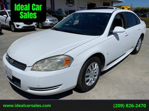 2010 Chevrolet Impala for sale at Ideal Car Sales in Los Banos CA