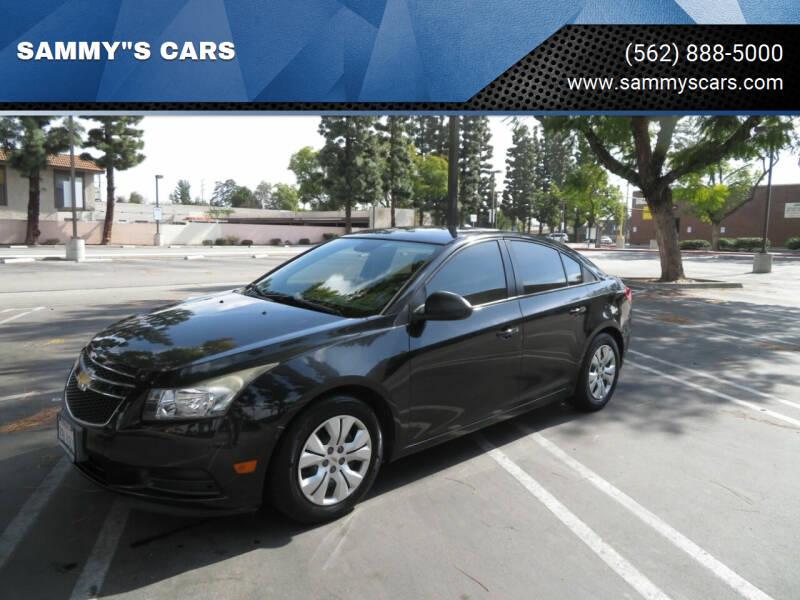 "2013 Chevrolet Cruze for sale at SAMMY""S CARS in Bellflower CA"