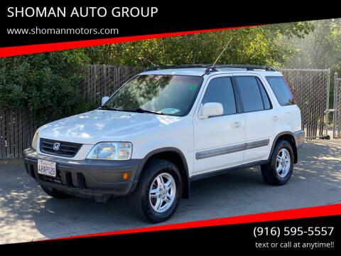 1999 Honda CR-V for sale at SHOMAN MOTORS in Davis CA