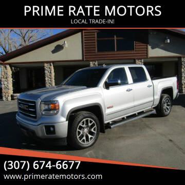 2014 GMC Sierra 1500 for sale at PRIME RATE MOTORS in Sheridan WY