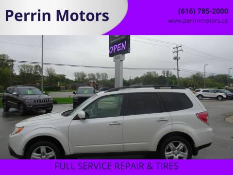 2013 Subaru Forester for sale at Perrin Motors in Comstock Park MI