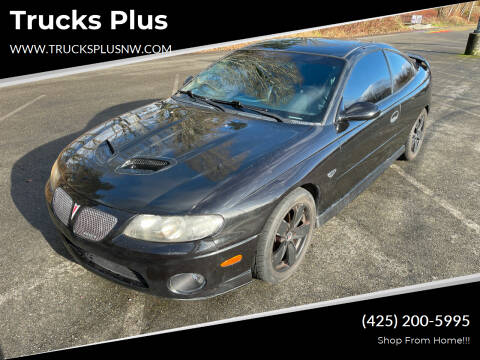 2005 Pontiac GTO for sale at Trucks Plus in Seattle WA