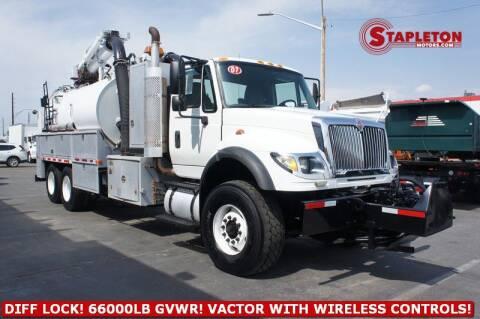 2007 International WorkStar 7600 for sale at STAPLETON MOTORS in Commerce City CO