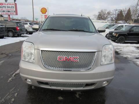 2008 GMC Yukon XL for sale at PLATINUM AUTO SALES in Dearborn MI