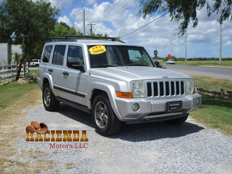 2006 Jeep Commander for sale at HACIENDA MOTORS, LLC in Brownsville TX