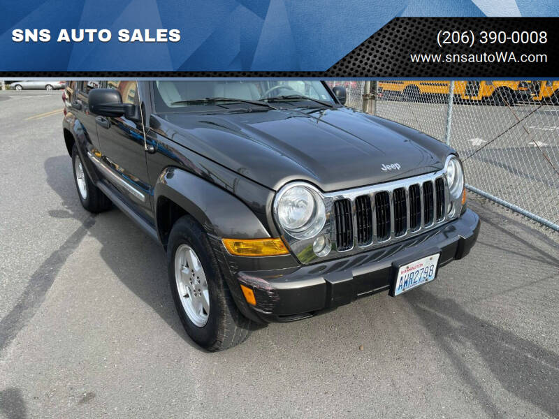 2006 Jeep Liberty for sale at SNS AUTO SALES in Seattle WA