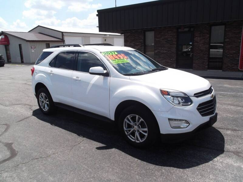 2017 Chevrolet Equinox for sale at Dietsch Sales & Svc Inc in Edgerton OH