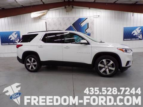 2020 Chevrolet Traverse for sale at Freedom Ford Inc in Gunnison UT