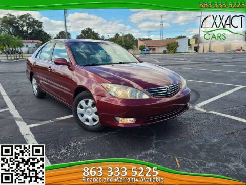 2006 Toyota Camry for sale at Exxact Cars in Lakeland FL