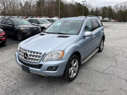 2010 Mercedes-Benz M-Class for sale at BILLY HOWELL FORD LINCOLN in Cumming GA