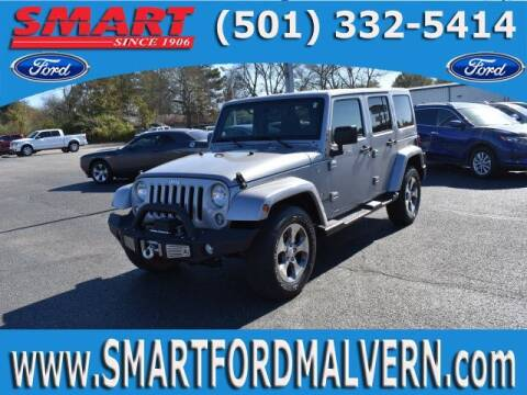 2016 Jeep Wrangler Unlimited for sale at Smart Auto Sales of Benton in Benton AR