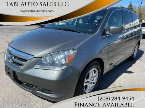 2007 Honda Odyssey for sale at RABI AUTO SALES LLC in Garden City ID