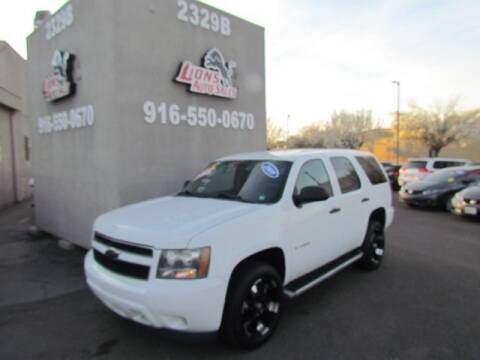 2009 Chevrolet Tahoe for sale at LIONS AUTO SALES in Sacramento CA