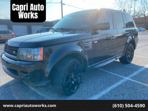 2010 Land Rover Range Rover Sport for sale at Capri Auto Works in Allentown PA