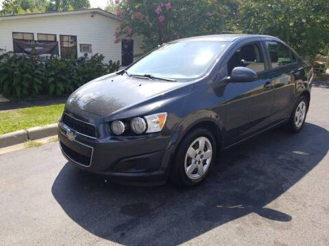 2014 Chevrolet Sonic for sale at TR MOTORS in Gastonia NC
