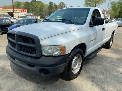 2004 Dodge Ram Pickup 1500 for sale at Atlantic Auto Sales in Garner NC