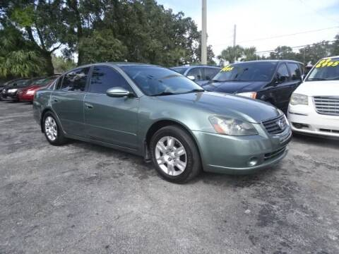 2006 Nissan Altima for sale at DONNY MILLS AUTO SALES in Largo FL