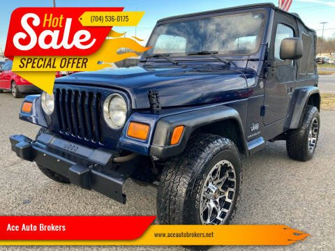 2006 Jeep Wrangler for sale at Ace Auto Brokers in Charlotte NC