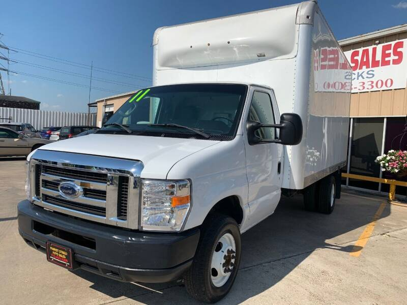 2011 Ford E-Series Chassis for sale at Market Street Auto Sales INC in Houston TX