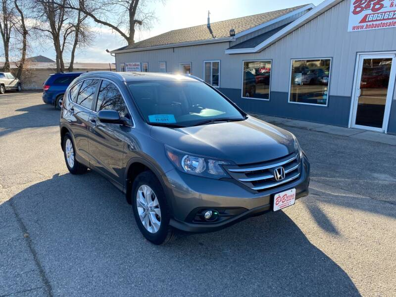 2014 Honda CR-V for sale at B & B Auto Sales in Brookings SD