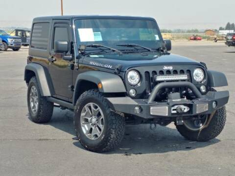 2017 Jeep Wrangler for sale at Rocky Mountain Commercial Trucks in Casper WY