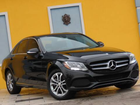 2015 Mercedes-Benz C-Class for sale at Paradise Motor Sports LLC in Lexington KY