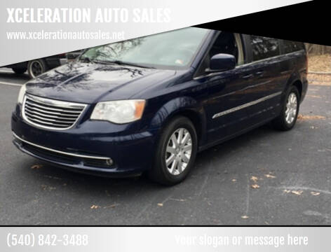 2014 Chrysler Town and Country for sale at XCELERATION AUTO SALES in Chester VA