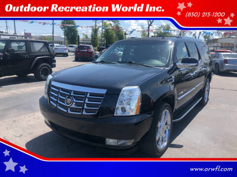 2014 Cadillac Escalade ESV for sale at Outdoor Recreation World Inc. in Panama City FL