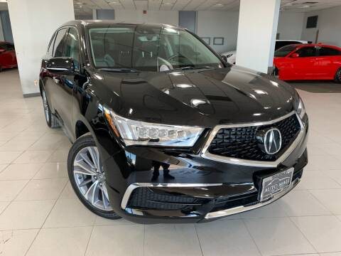 2017 Acura MDX for sale at Auto Mall of Springfield in Springfield IL