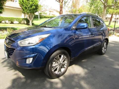 2015 Hyundai Tucson for sale at E MOTORCARS in Fullerton CA